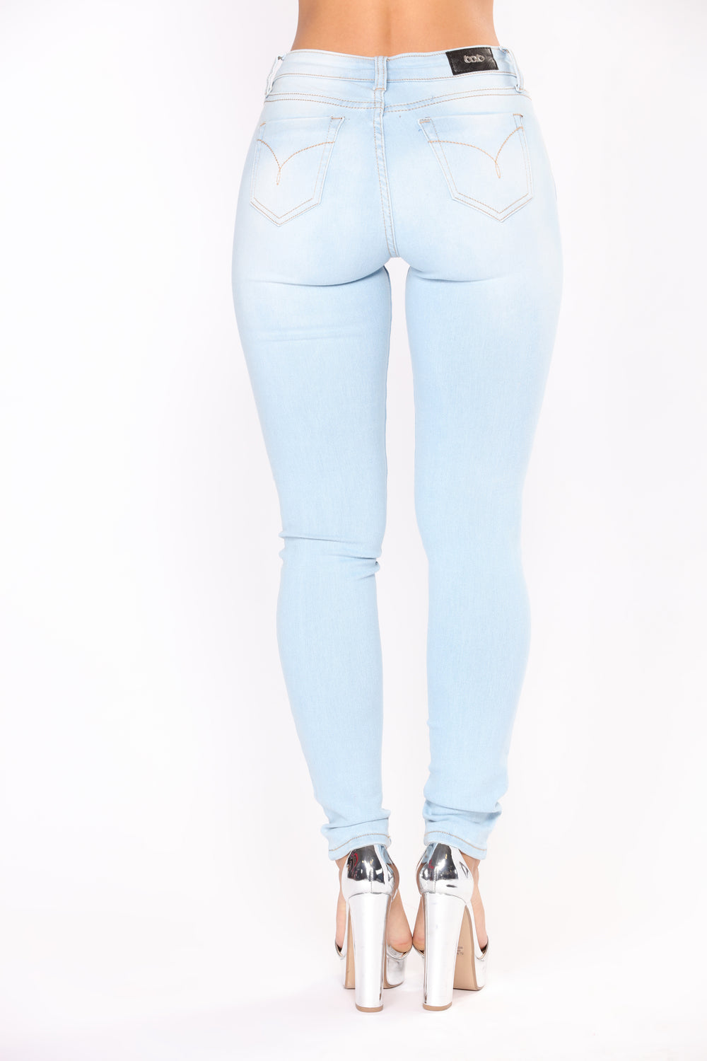 Peachy Beachy Skinny Jeans - Light