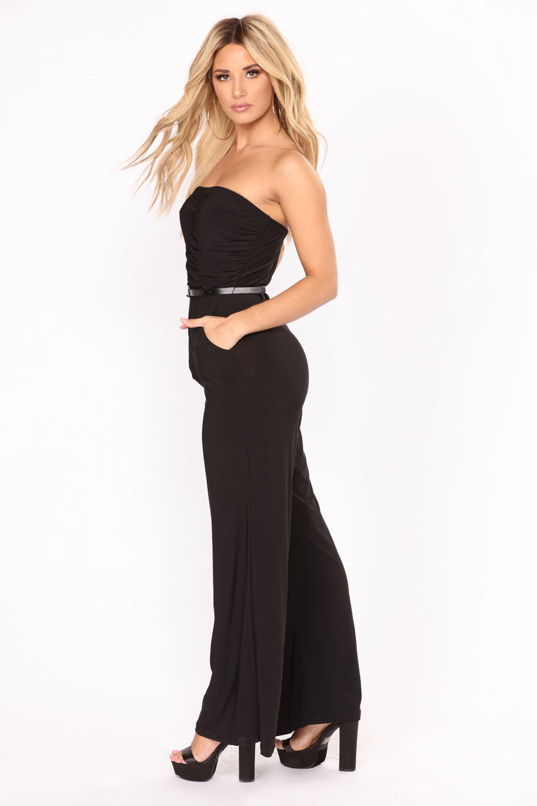 Tanisha Tube Jumpsuit - Black