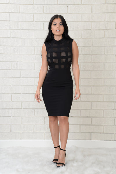 Euphoria Dress - Black