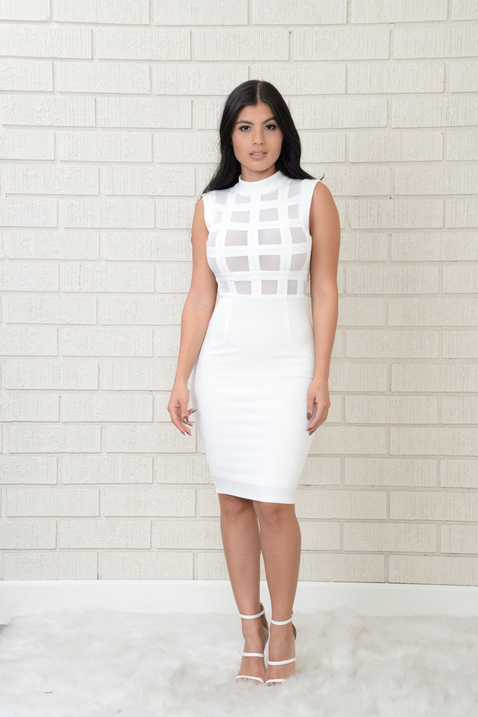Euphoria Dress - White