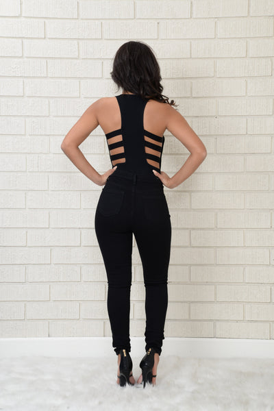 Barre Bodysuit - Black