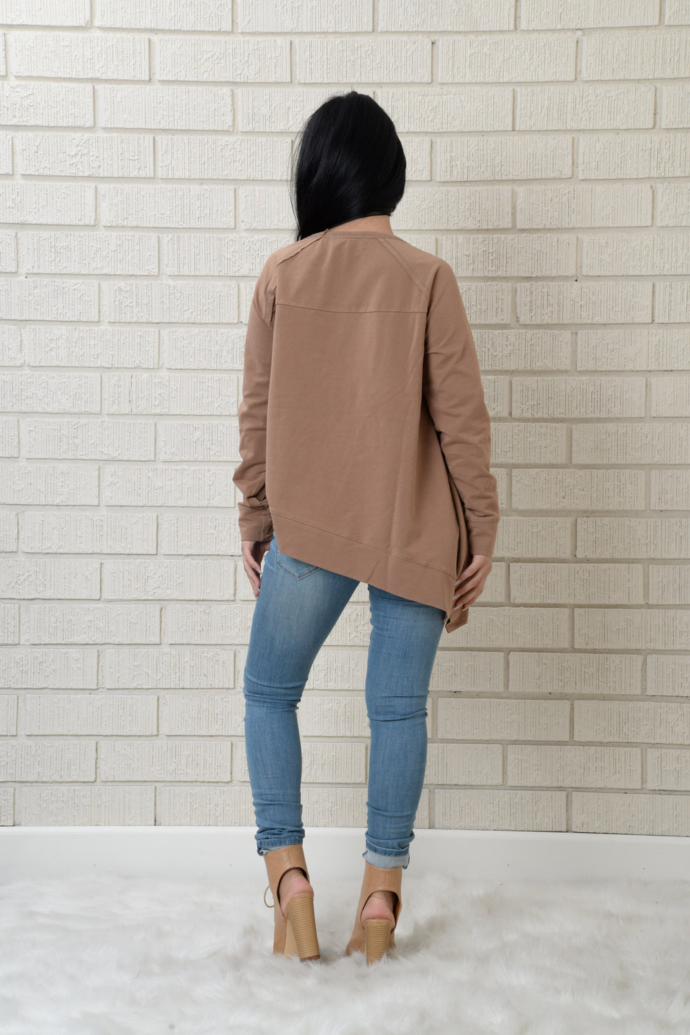 Easton Top - Taupe