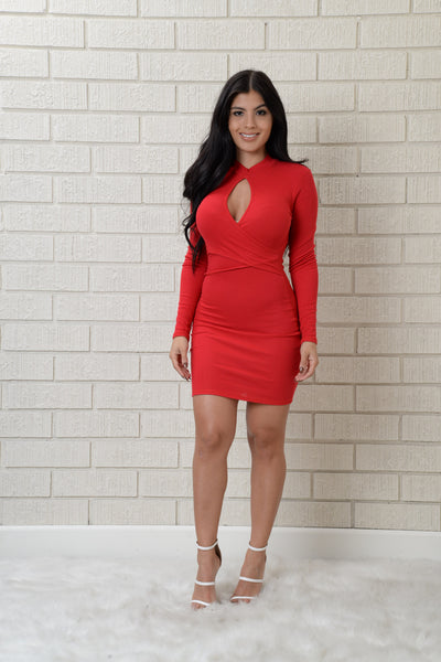 Charlotte Dress - Red