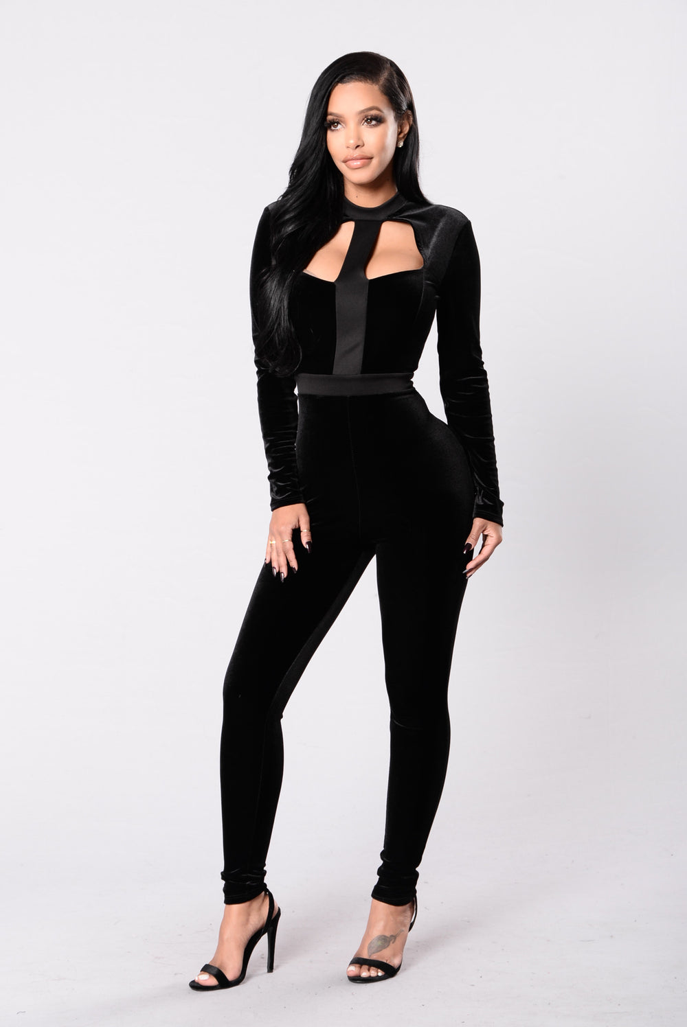 Mean So Much Jumpsuit - Black