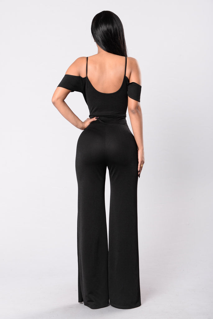 Lover Like You Jumpsuit - Black
