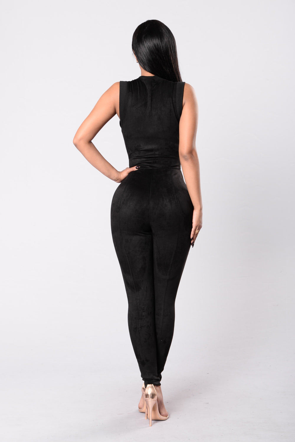 Good Behavior Jumpsuit - Black