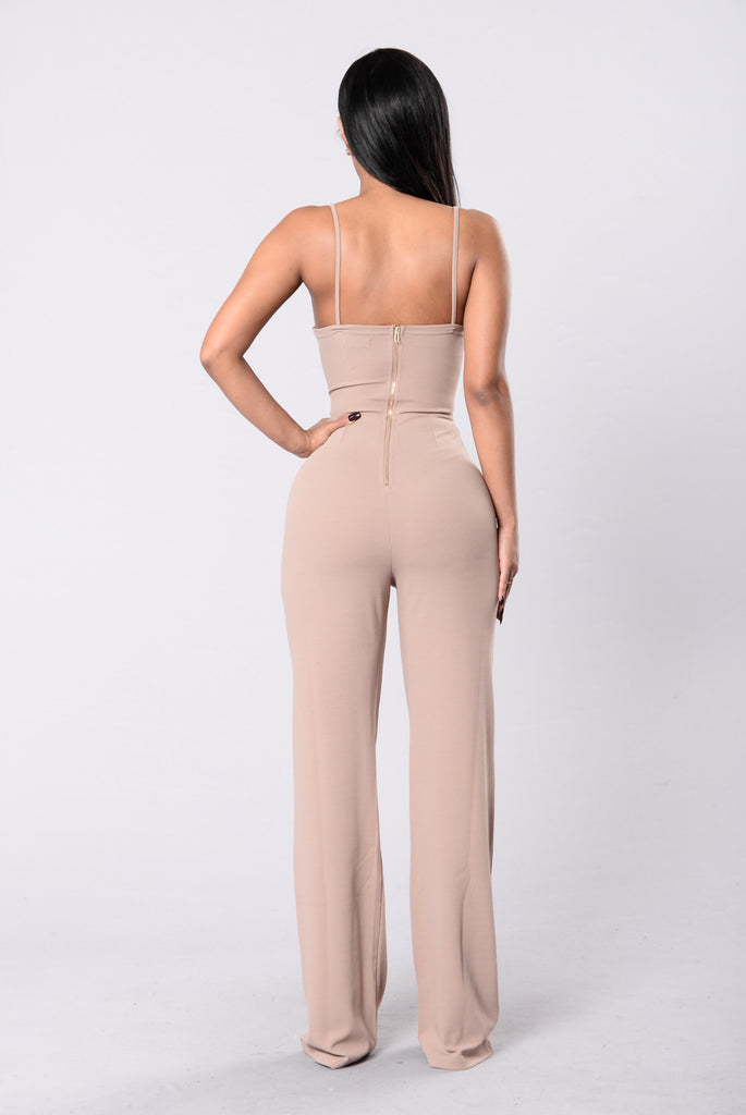 Self Control Jumpsuit - Mocha