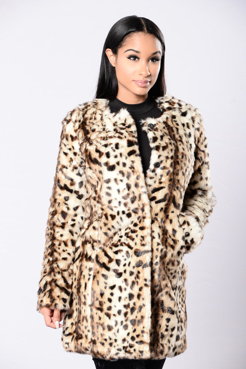 All The Power Jacket - Leopard