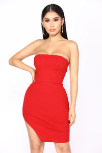 Make An Entrance Dress - Red