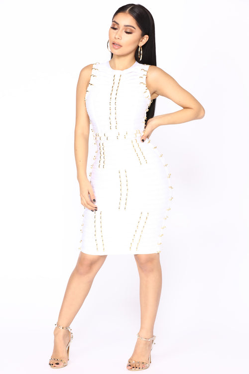 Mojito Mini Dress - Off White
