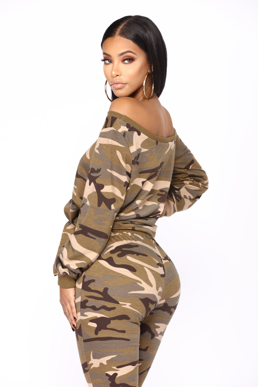Tammy Camo Lounge Top - Camo