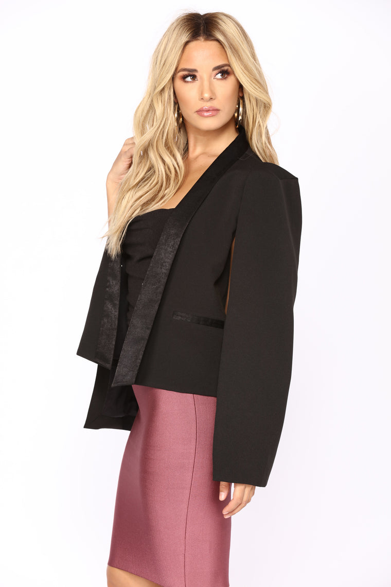Vinedo Cape Blazer - Black