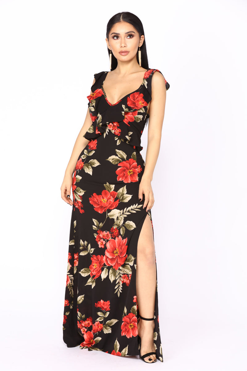 Private Island Maxi Dress - Black