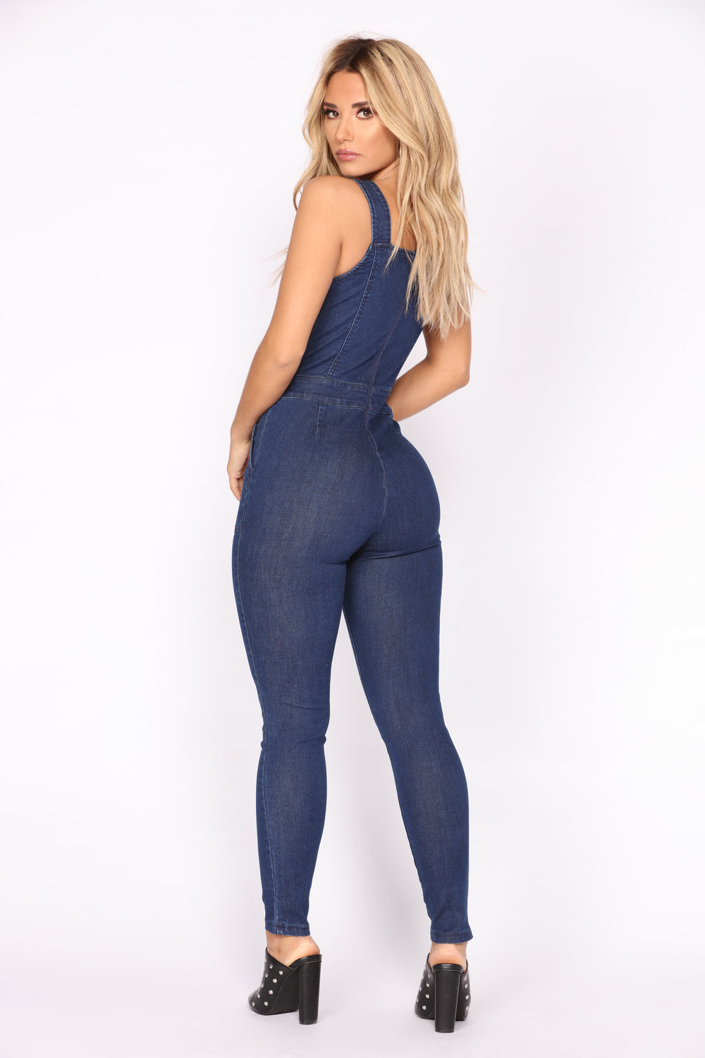 Generator Denim Jumpsuit - Dark