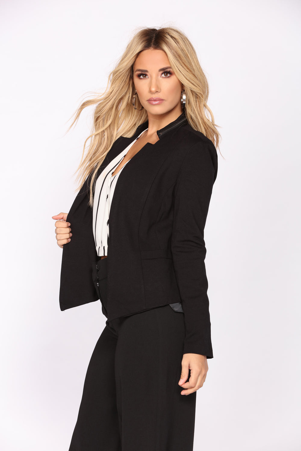 Why So Serious Blazer - Black