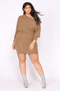 Did You Say Dulce De Leche Dress - Mustard Angle 5