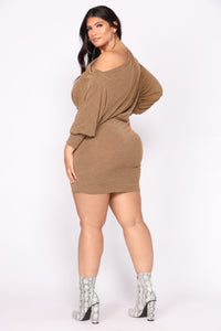 Did You Say Dulce De Leche Dress - Mustard Angle 8