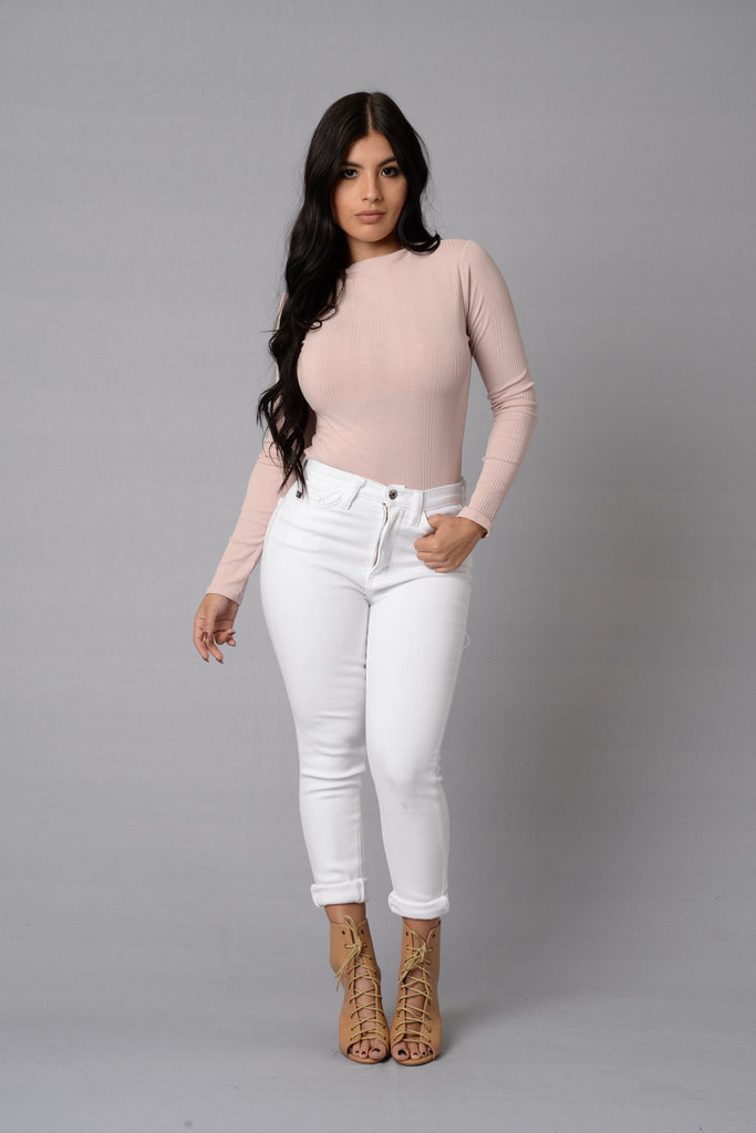 Margot Bodysuit - Blush