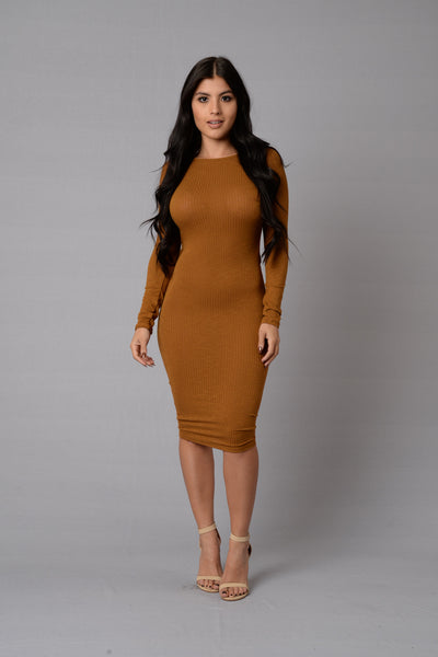 Westminster Dress - Camel
