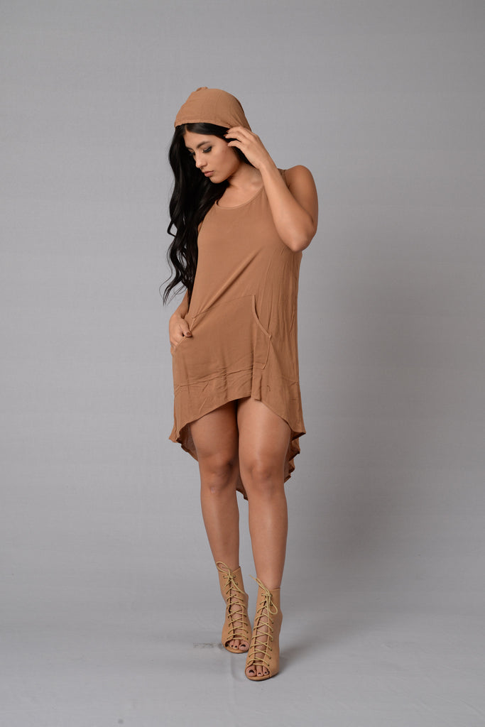 Night Rider Tunic - Camel