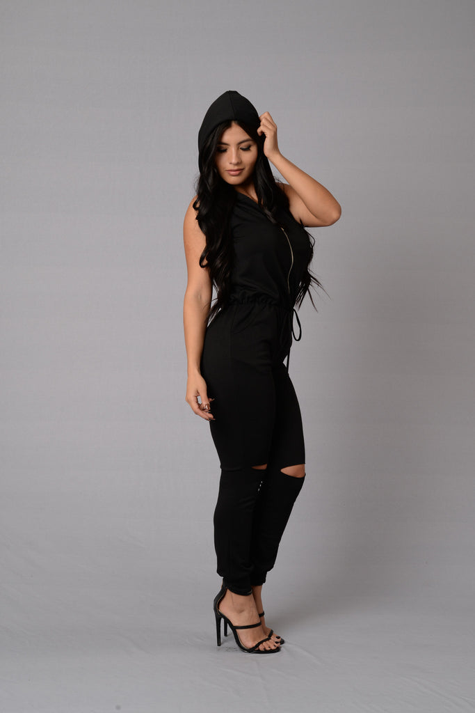 Gossip Jumpsuit - Black