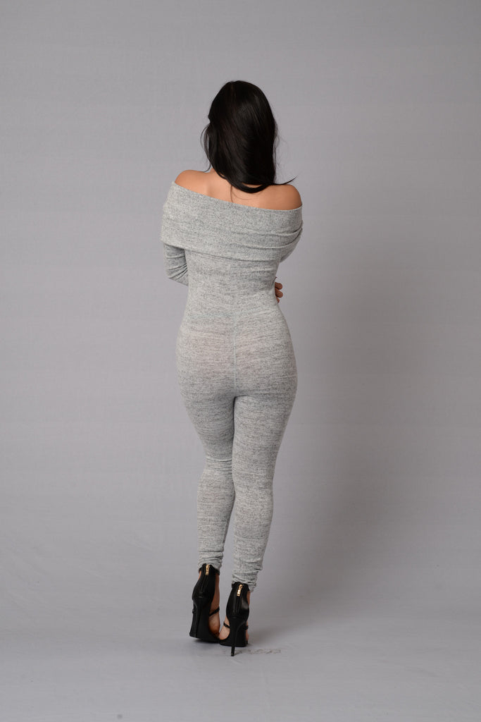 Condition Jumpsuit - Heather Grey