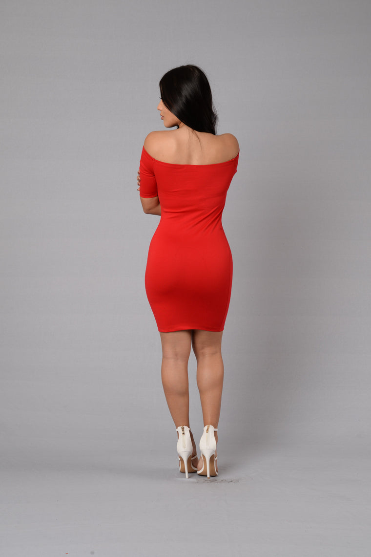 Veronica Dress - Red