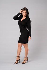 Here and Now Dress - Black