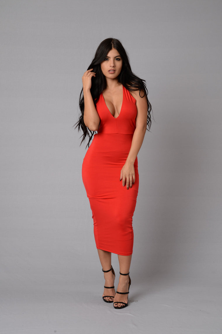 Passion Dress - Red