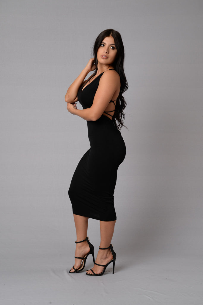 Passion Dress - Black