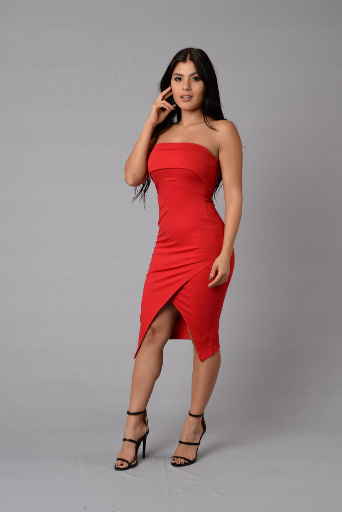 Ariana Dress - Red