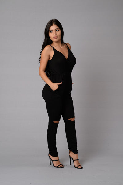 Honeylove Jumpsuit - Black