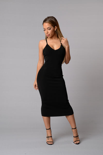 Desired Dress - Black