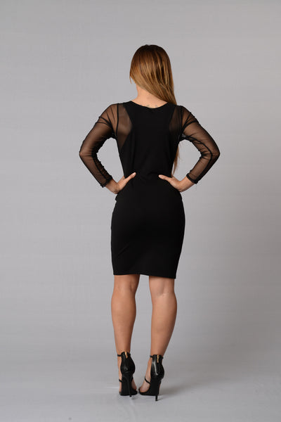 Sinful Dress - Black