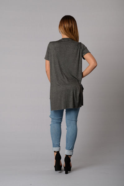 Just Sunshine Tee - Charcoal