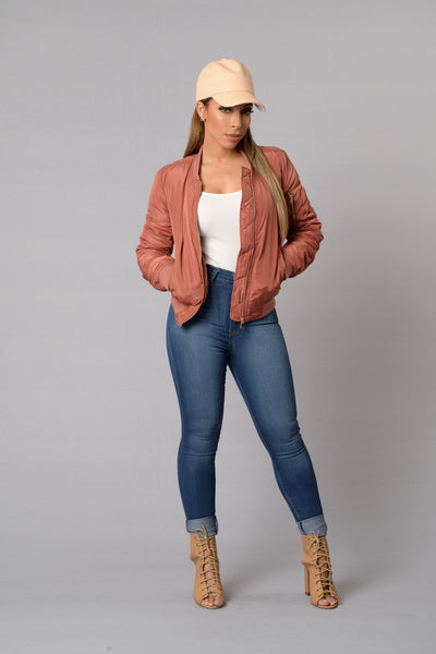 Notorious Jacket - Mauve