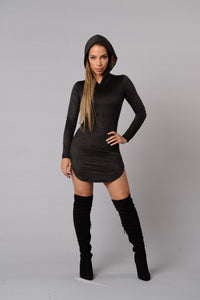 Most Official Tunic Hoodie - Black