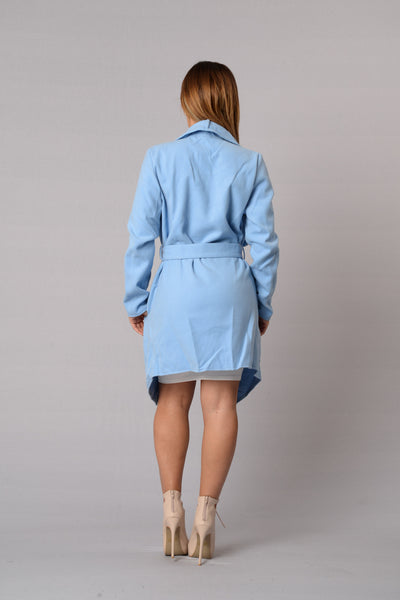 Manhattan Coat - Baby Blue