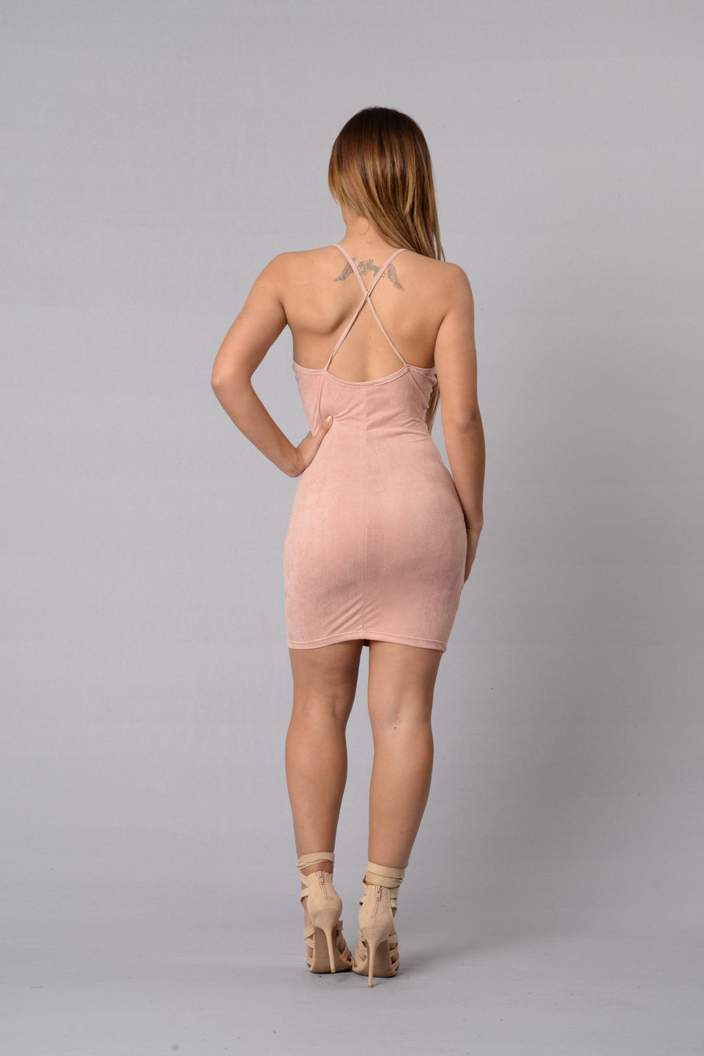Alexa Dress - Mauve