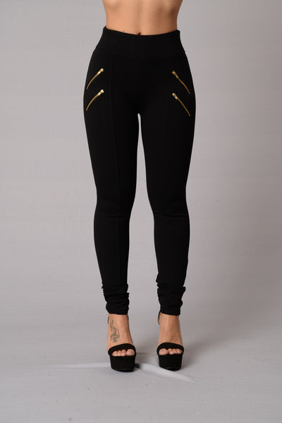 High Road Pants- Black