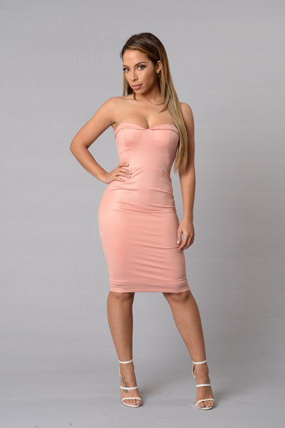 Barbie Girl Dress - Blush