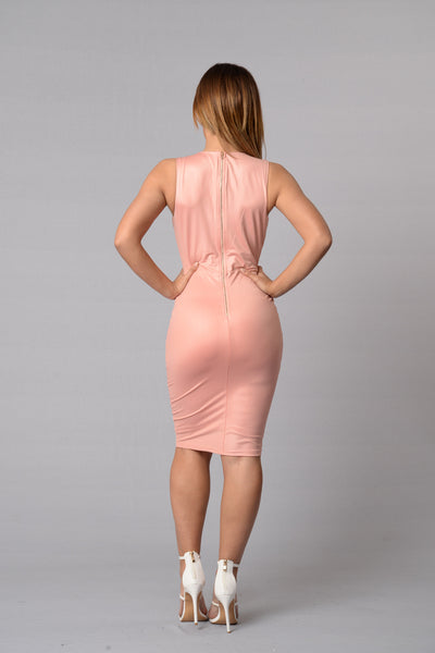 Barbie World Dress - Blush