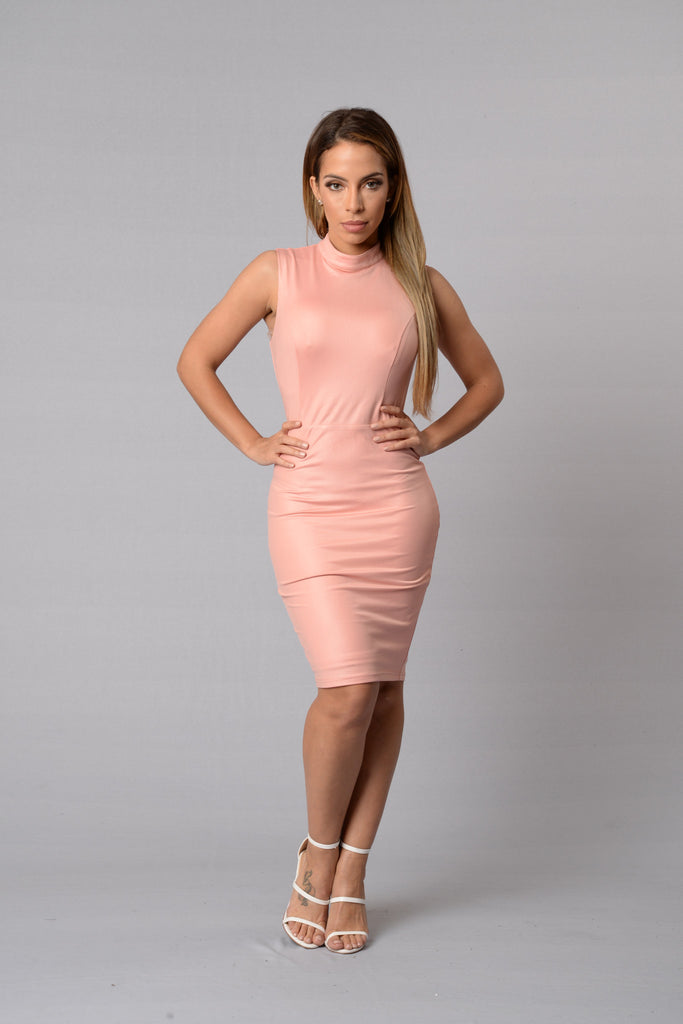 Dream Girl Dress - Blush