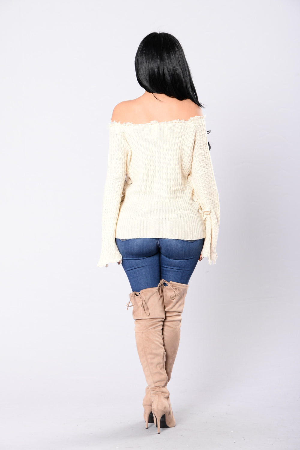 Love To Lay Sweater - Beige