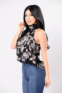 It's A Celebration Top - Black
