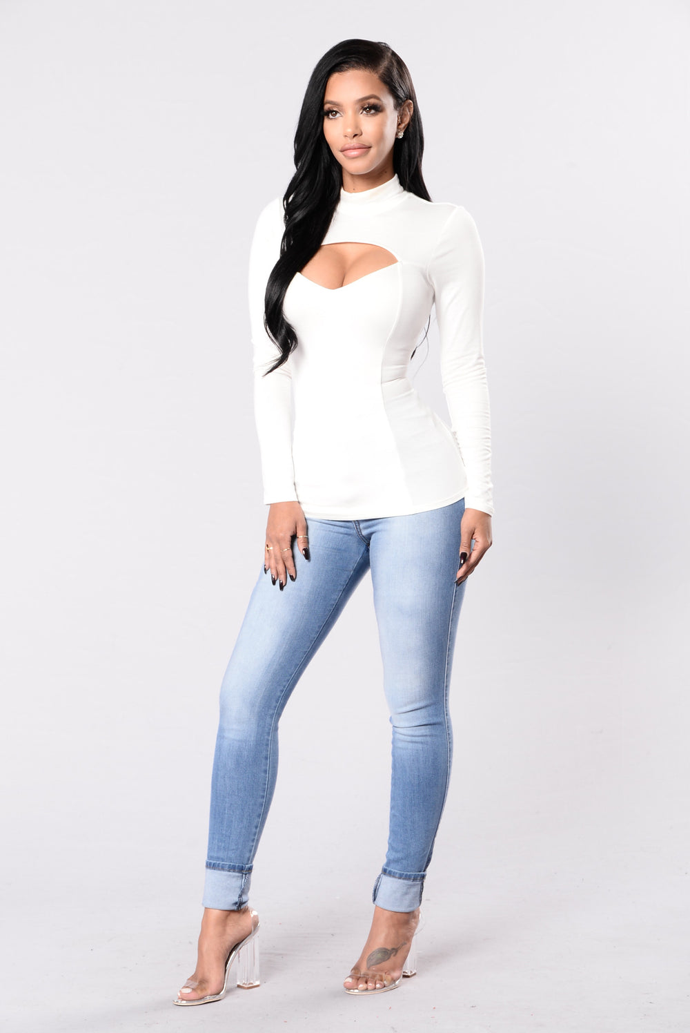 The Night Watch Top - Ivory