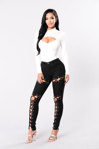 Billie Idol Pants - Black