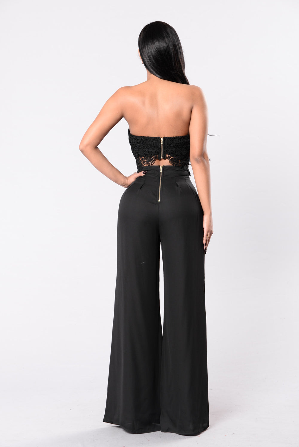 Come Take My Hand Jumpsuit - Black