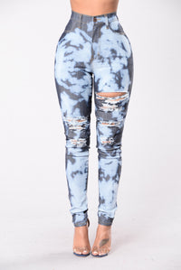 Peaches & Cream Jeans - Dark