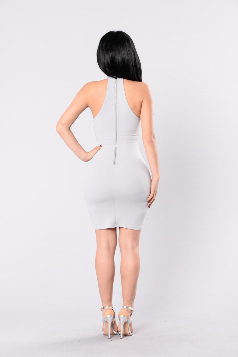 Take This Ring Dress - Grey